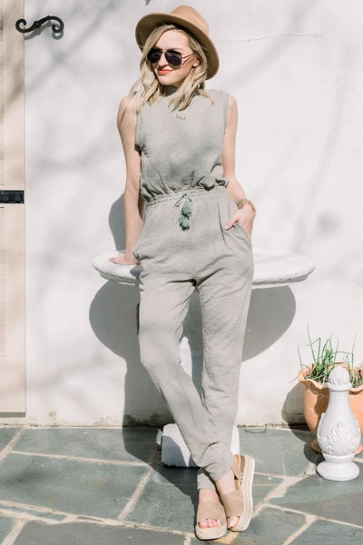 Traveling in Time Jumpsuit