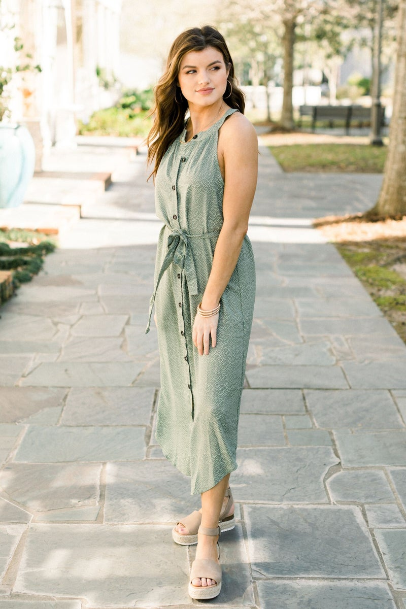 Ready Set Spring Midi Dress