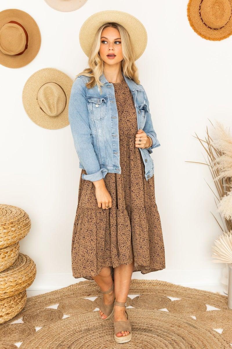 Get to Know It Midi Dress