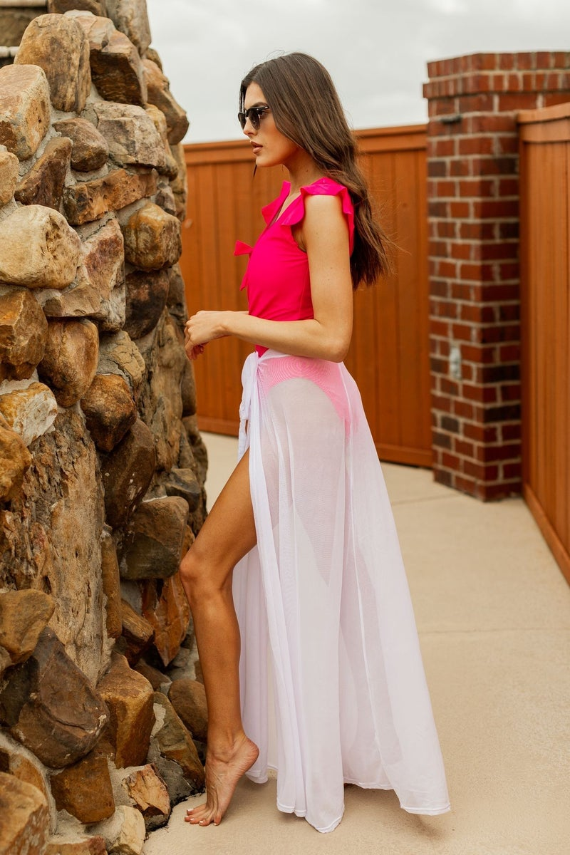 Skirting Through Summer Cover Up