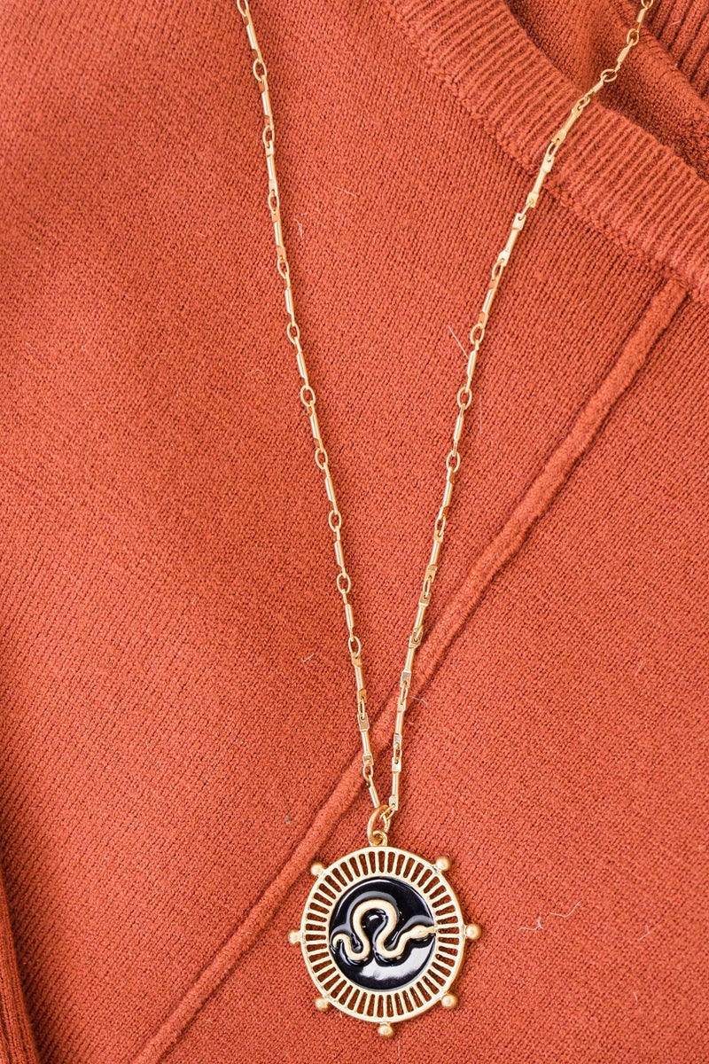 Slither Around Necklace