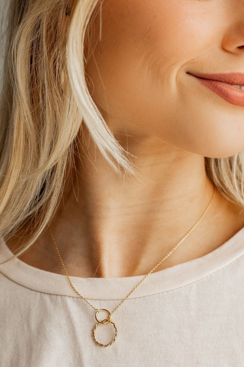 Linked In Necklace