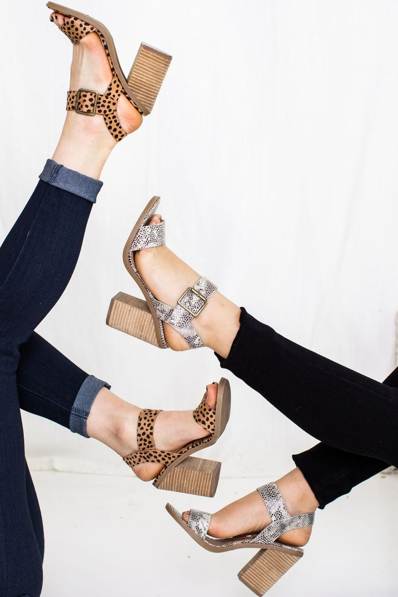 Step on the Wild Side Heel