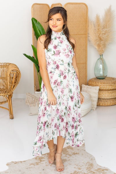 Through the Garden Midi Dress