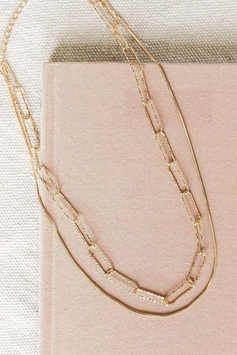 Golden Rise Necklace *Final Sale*