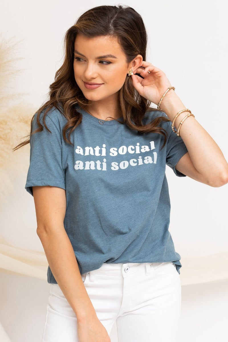 Antisocial  Tee
