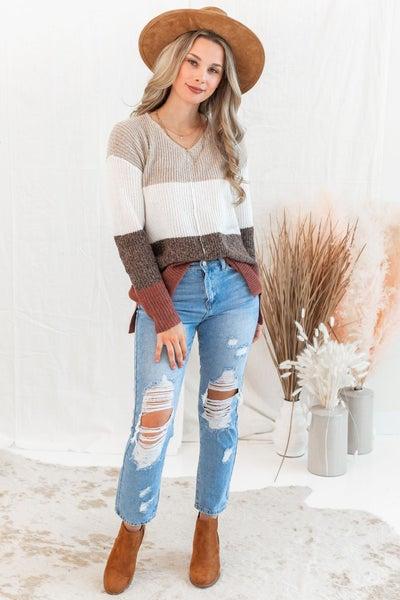 Sweet Mornings Sweater