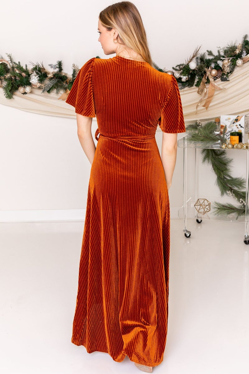 Wrapped Up for the Holiday Maxi