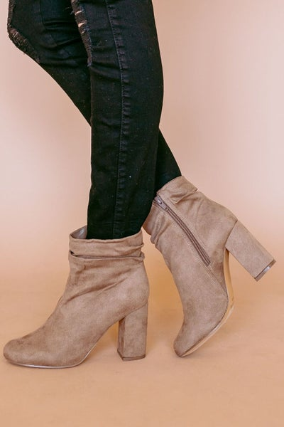 Slouchy & Chic Bootie