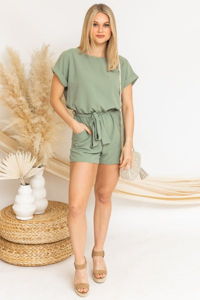 Pretty For Spring Romper