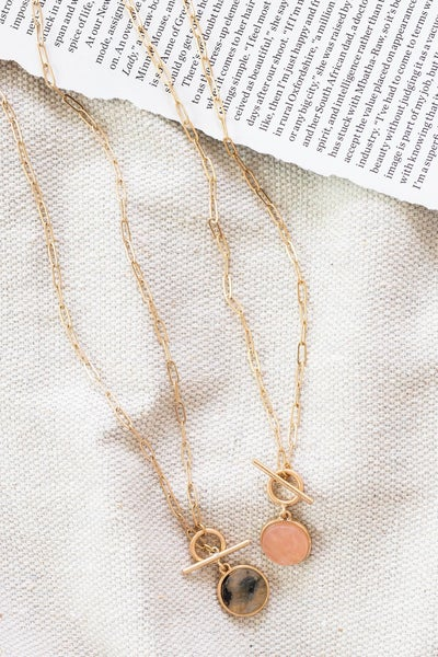 Chained to the Heart Necklace *Final Sale*