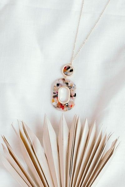 Pendant on Me Necklace *Final Sale*