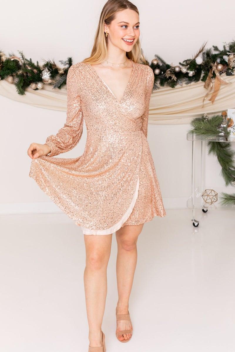 Shimmer and Shake Dress