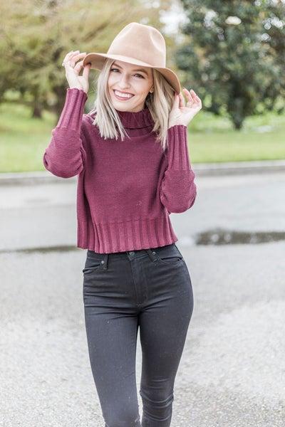 Christmas Cheer Cowl Sweater