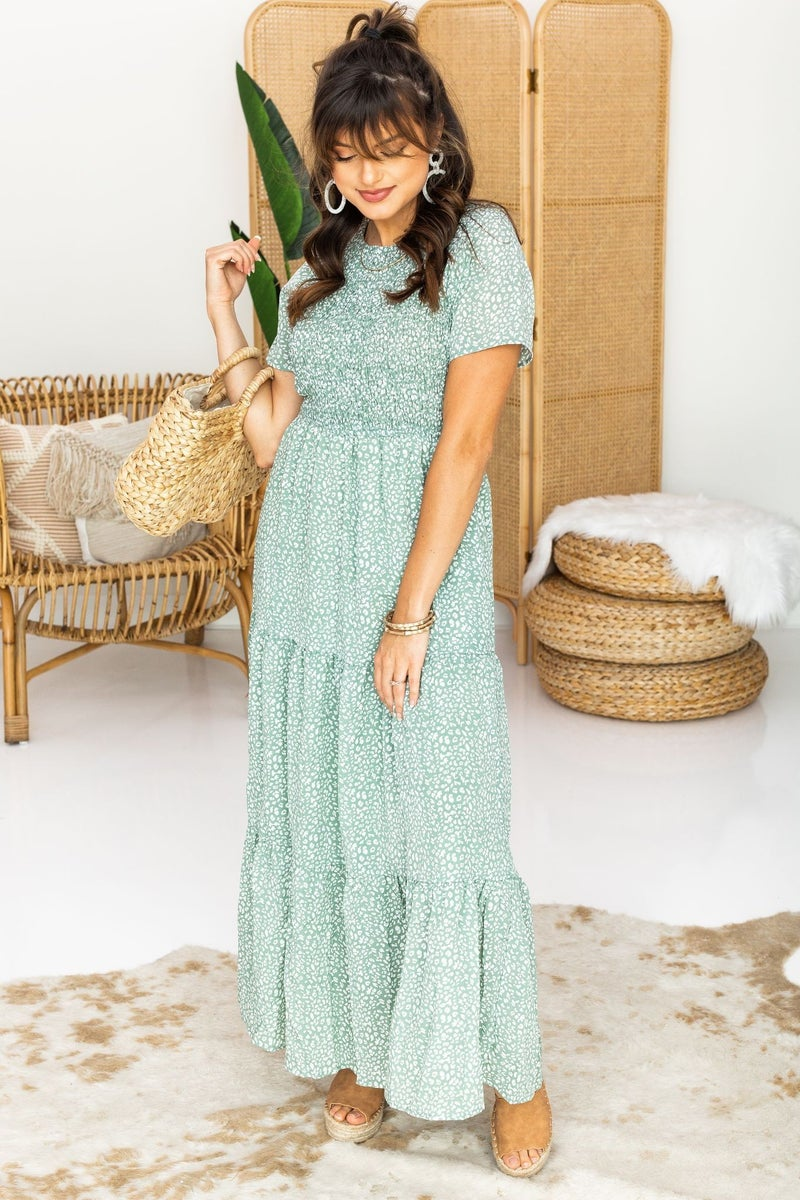 Collecting Memories Maxi Dress