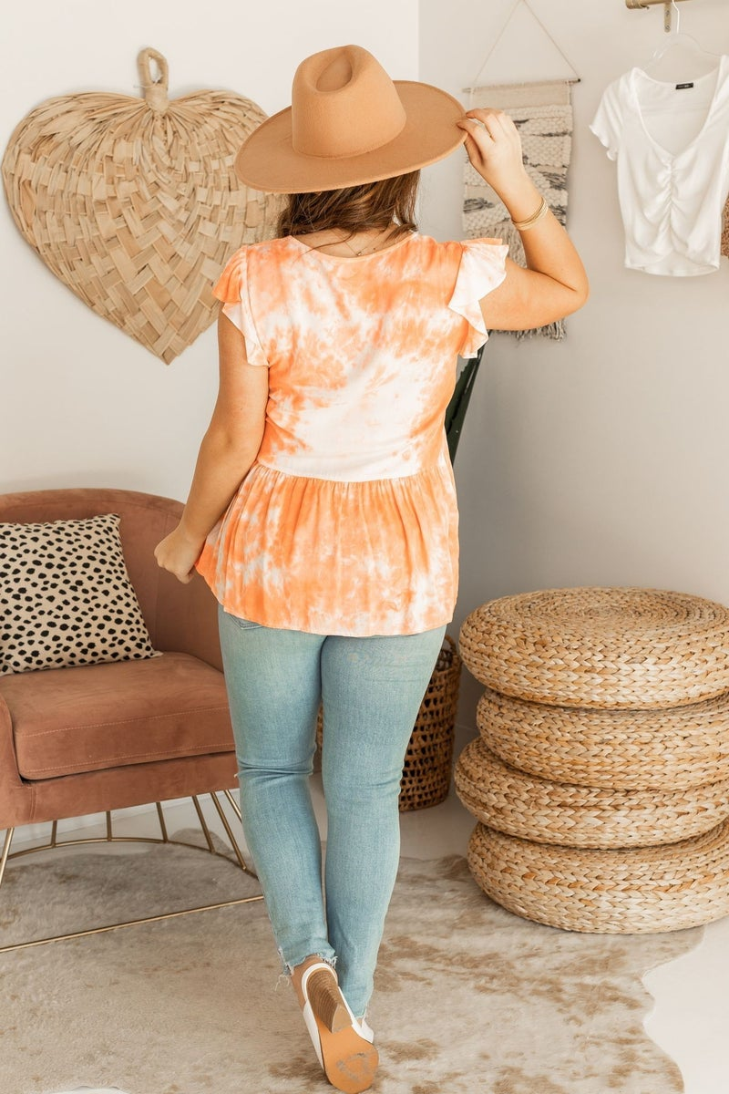 Touch of Tie Dye Top
