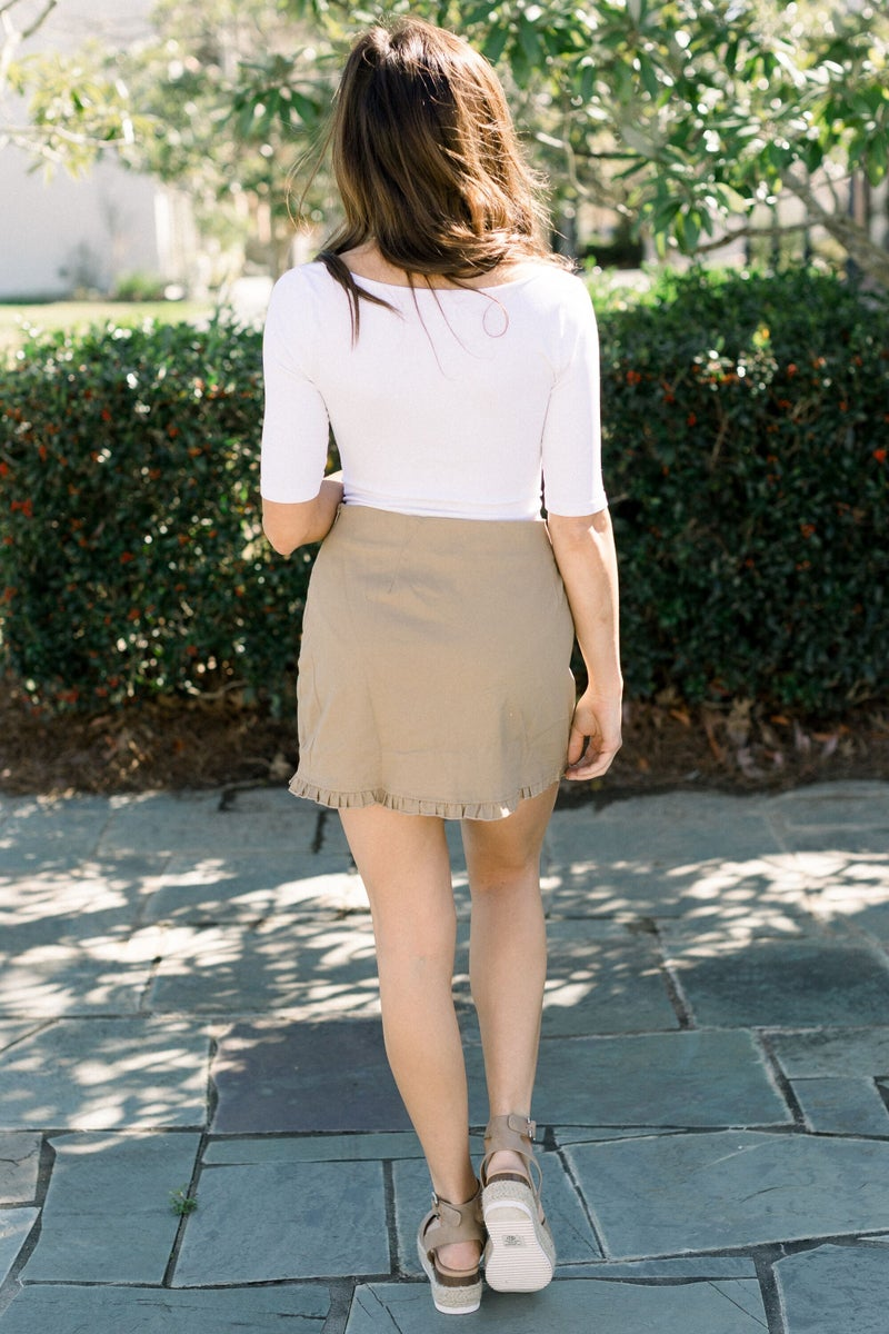 Stitched in Detail Skirt