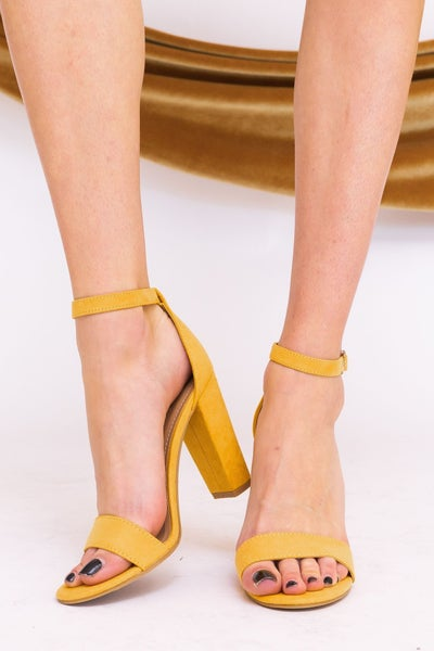 Stepping Brightly Heel *Final Sale*