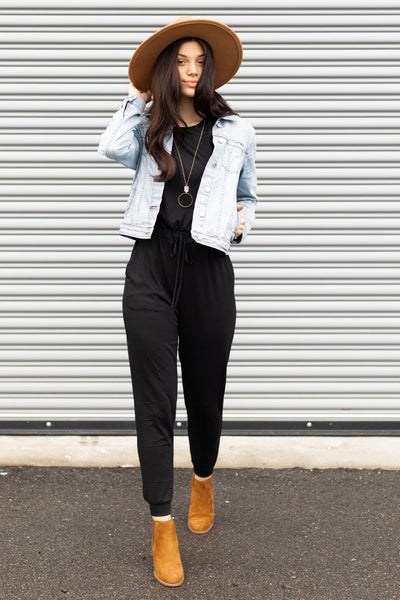 A Day for Comfort Jumpsuit