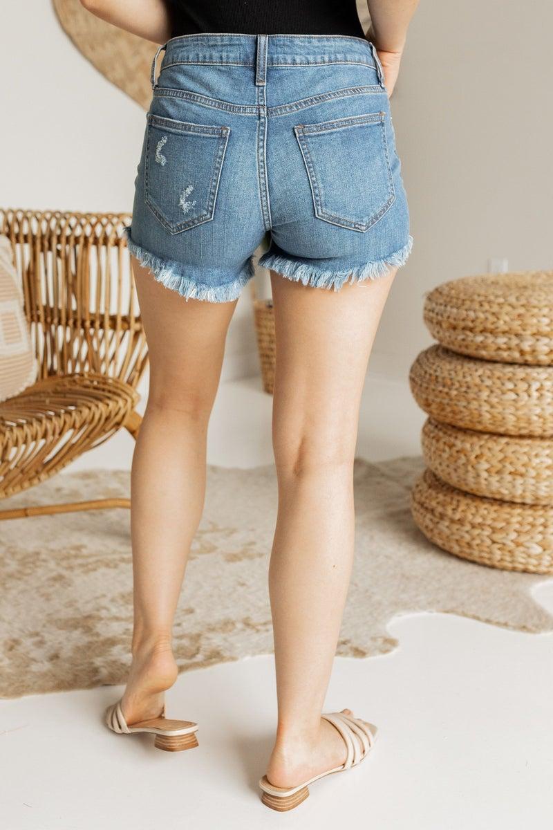 Day to Day Denim Shorts