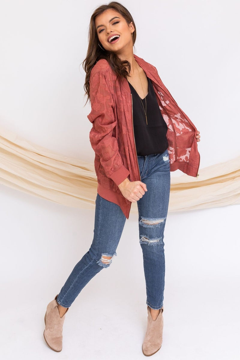 Rose to the Top Jacket