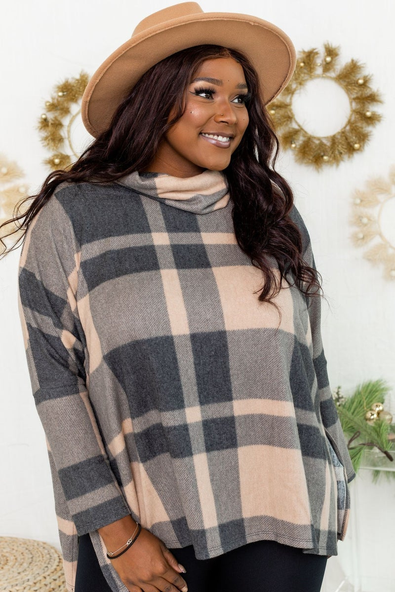 Wrapped in Plaid Poncho