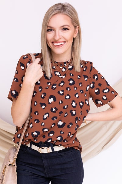 Most Loved Leopard Top