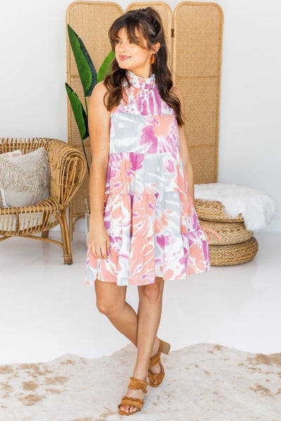 Swirl into the Occasion Dress