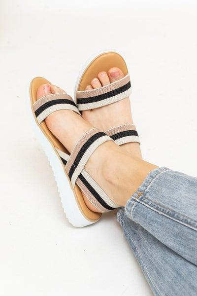 Strapped For Spring Sandal *Final Sale*
