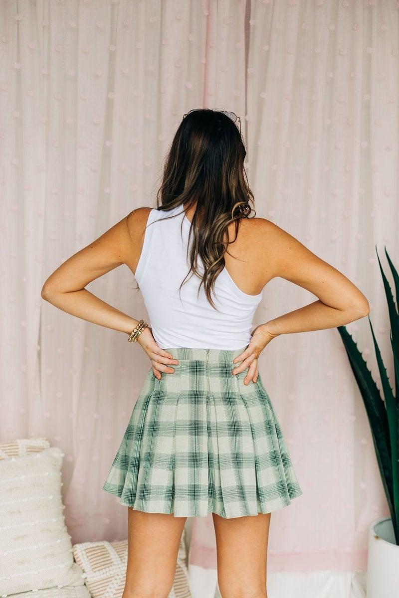Plaid to the Bone Skirt