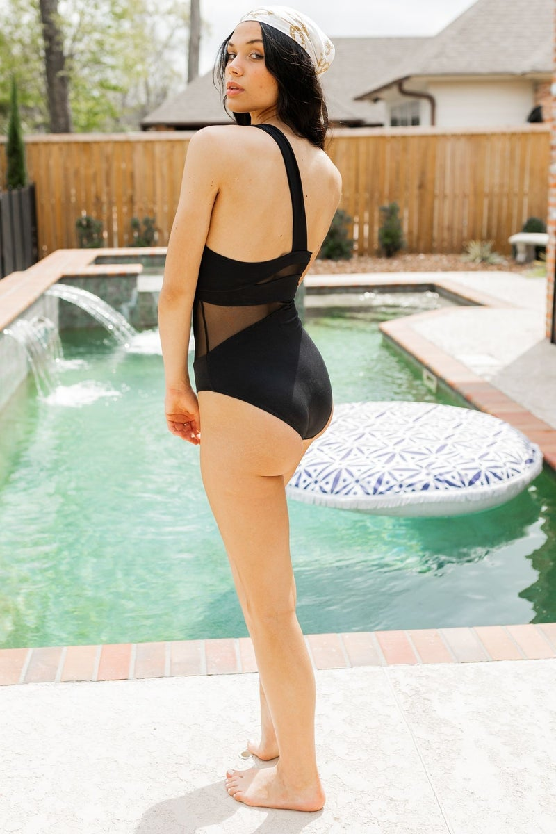 Poolside Cabana Swimsuit