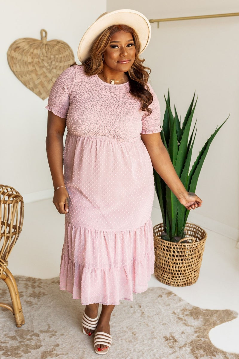 Swiss and Sweet Maxi Dress