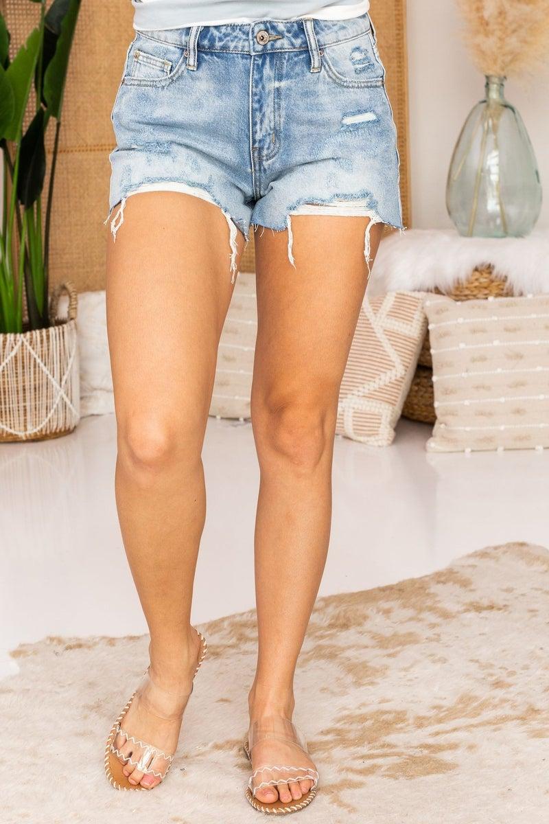 Ride Along Denim Shorts