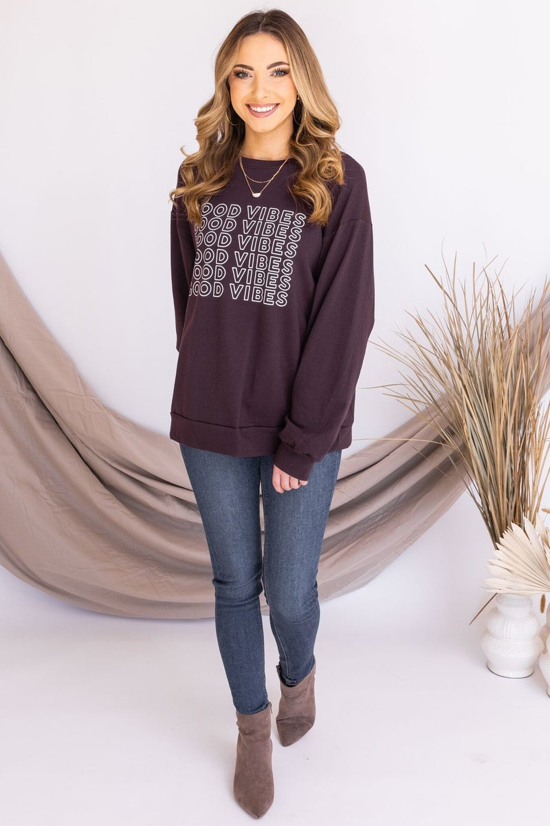 All The Good Vibes Sweater