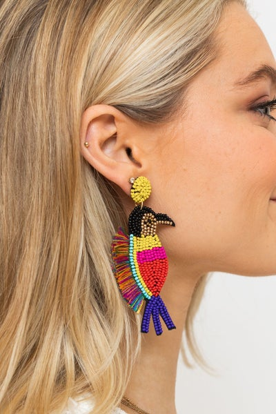Birds of a Feather Earring *Final Sale*