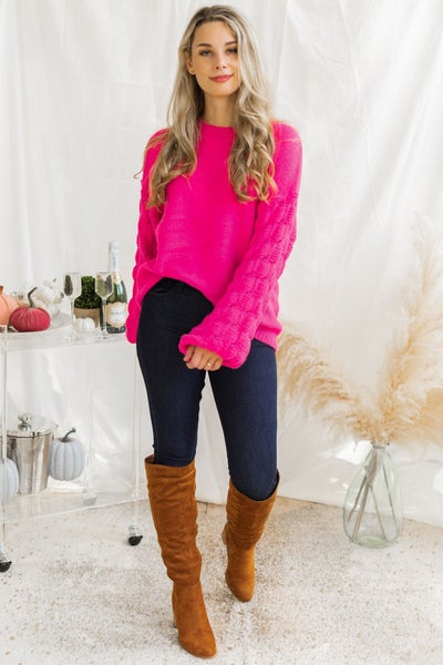 Passion Pink Sweater