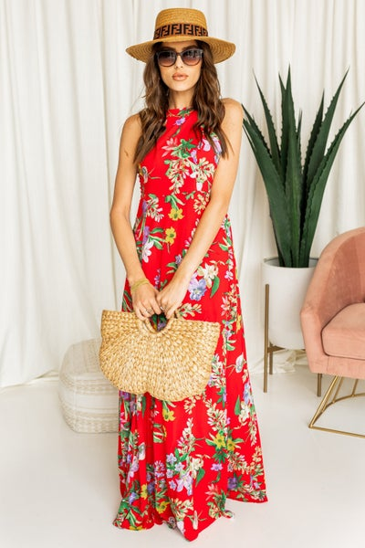 Meet You in Mexico Maxi Dress