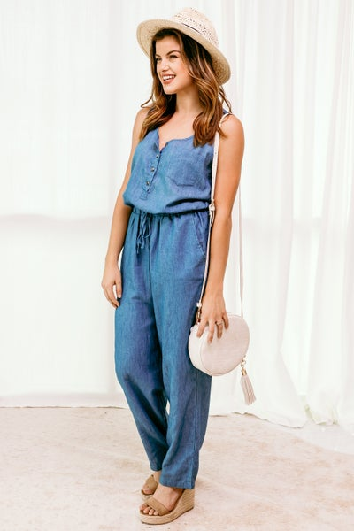 Dreaming in Denim Jumpsuit