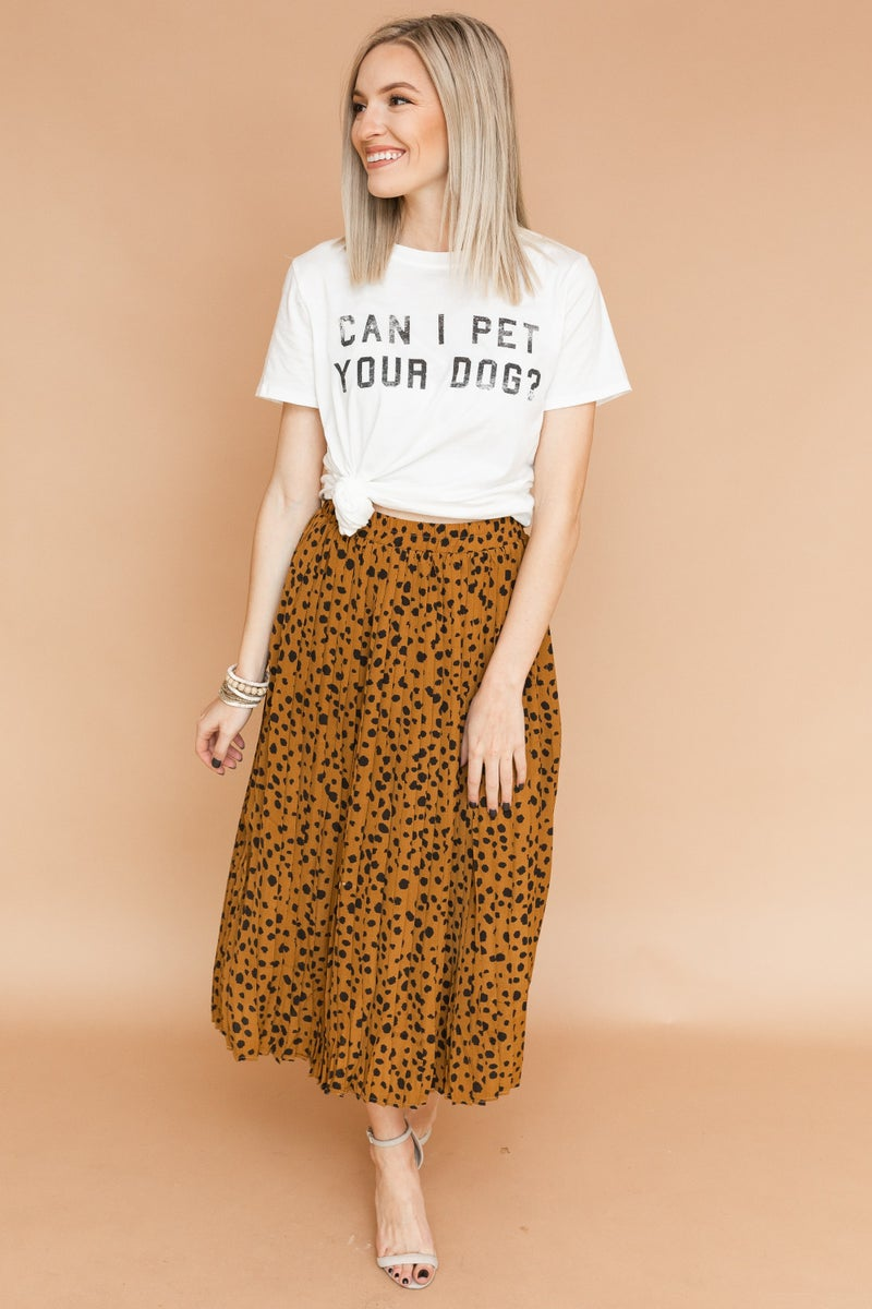 Spotted You Skirt