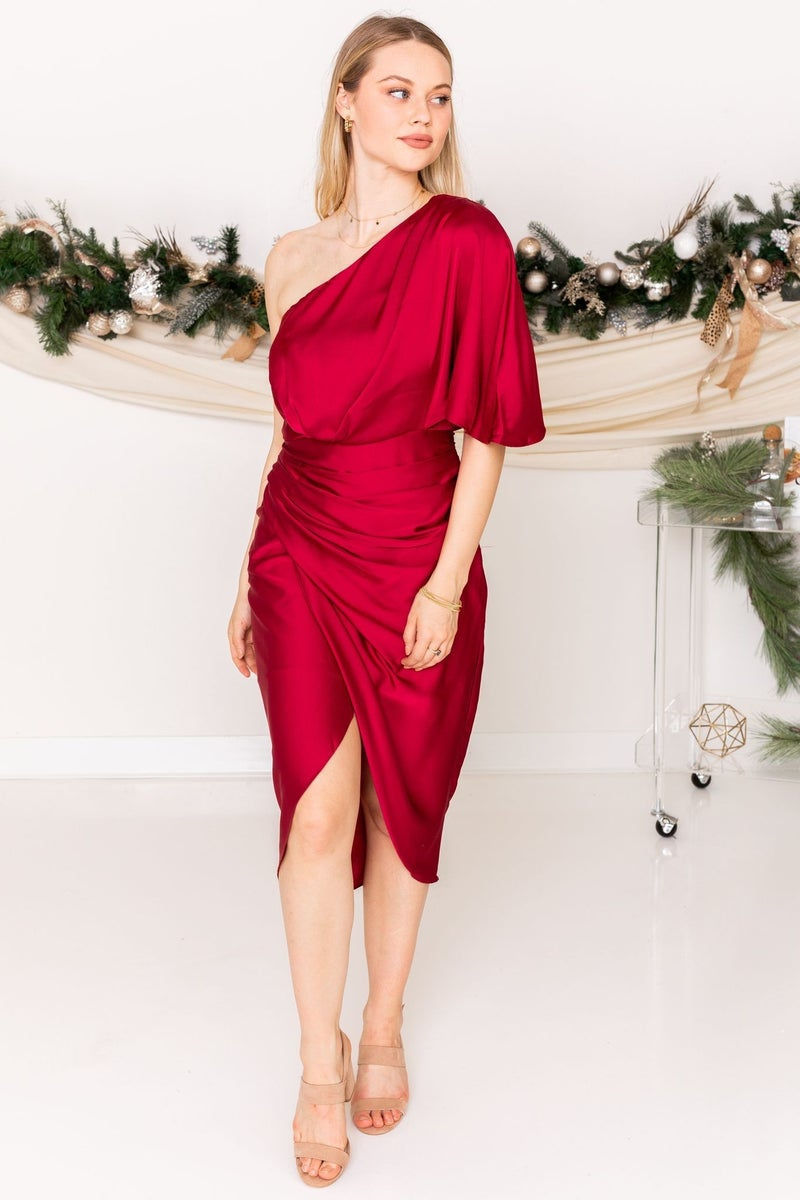 Winter Cocktail Dress
