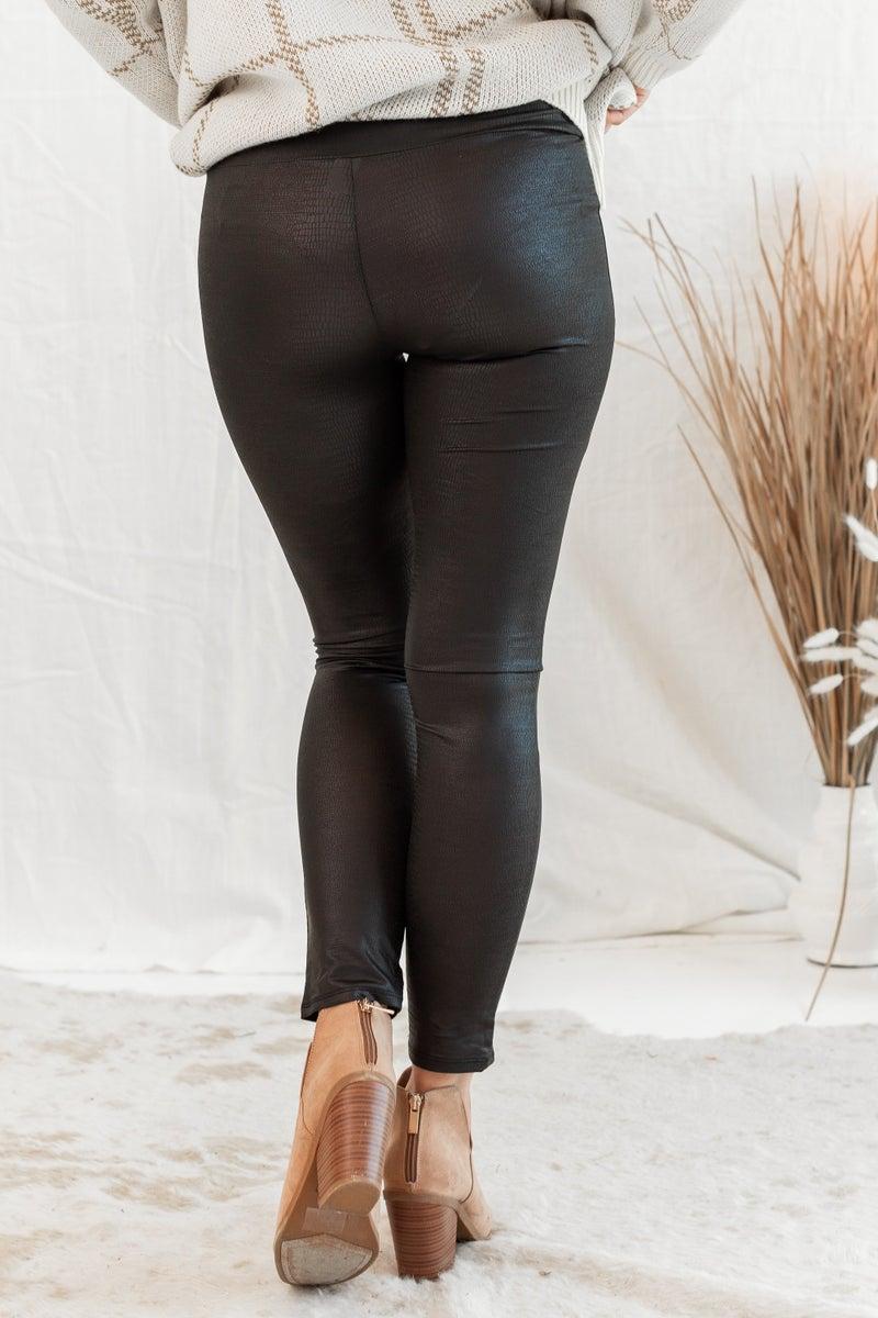 Thanx Again Leather Legging