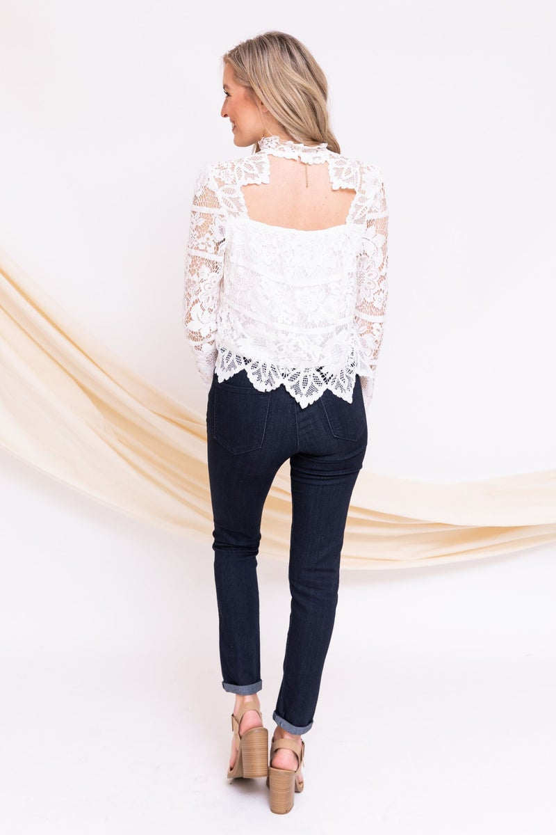 Lace You To It Top