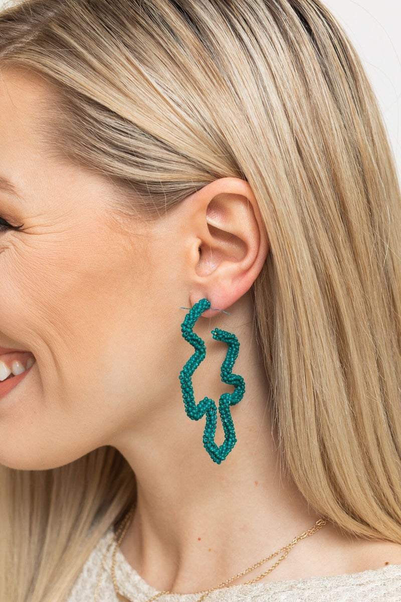 Leaf Me Under the Palm Trees Earring *Final Sale*