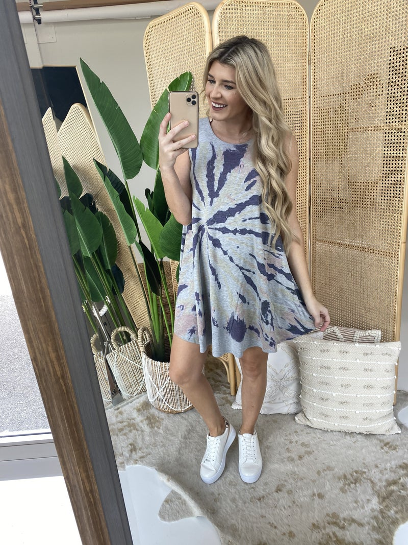 Get Lost in Time Dress