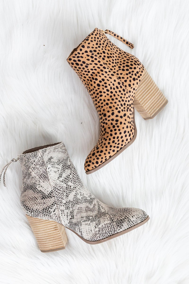 Here for the Season Bootie