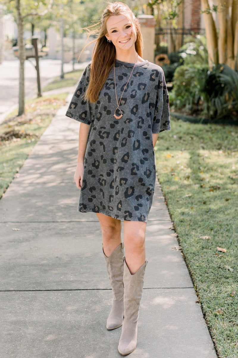 Running Wild Tee Dress
