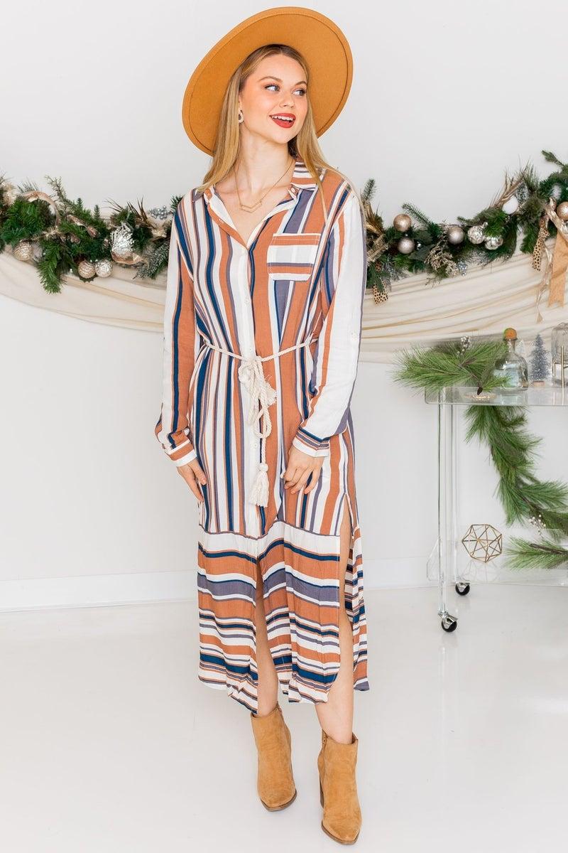 Bohemian Goddess Midi Dress