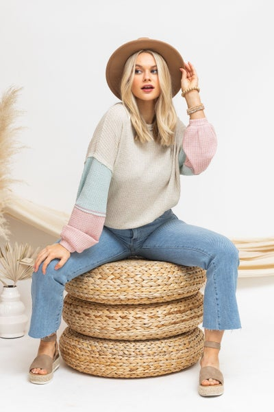 A Knit for Spring Sweater *Final Sale*
