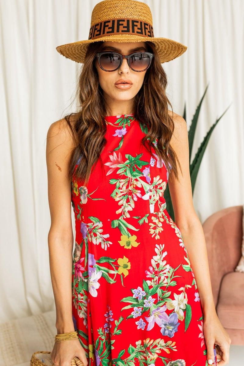 Meet You in Mexico Maxi Dress
