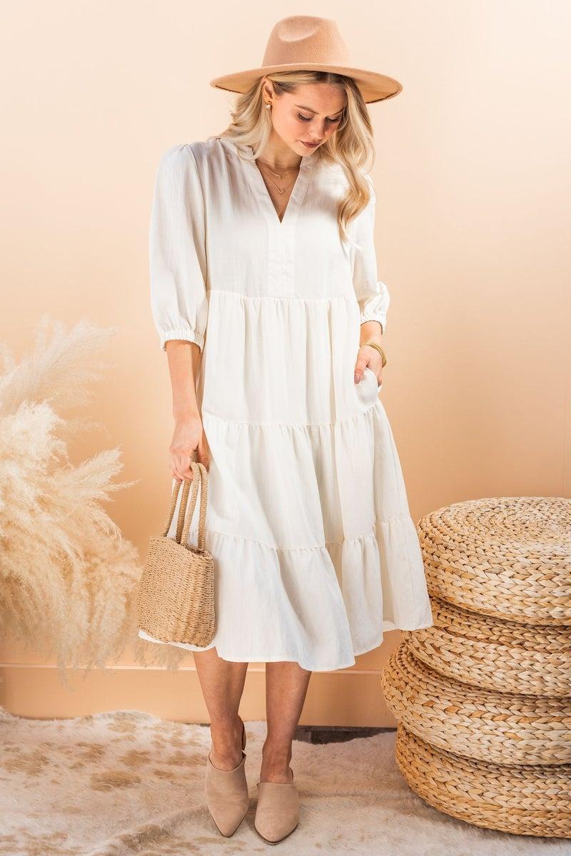 Iris Meadow Midi Dress
